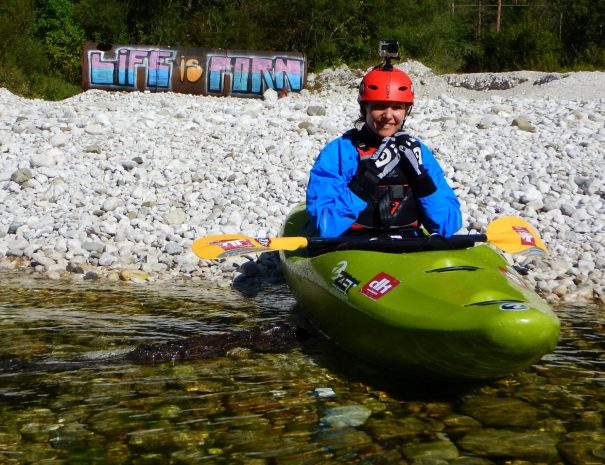 life is porn when kayaking in bovec