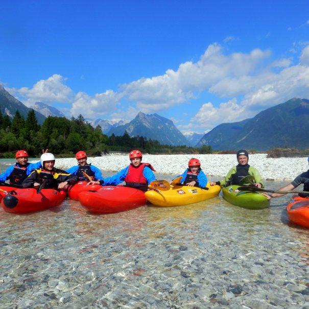 narnia film scene guided kayak trip on soča river