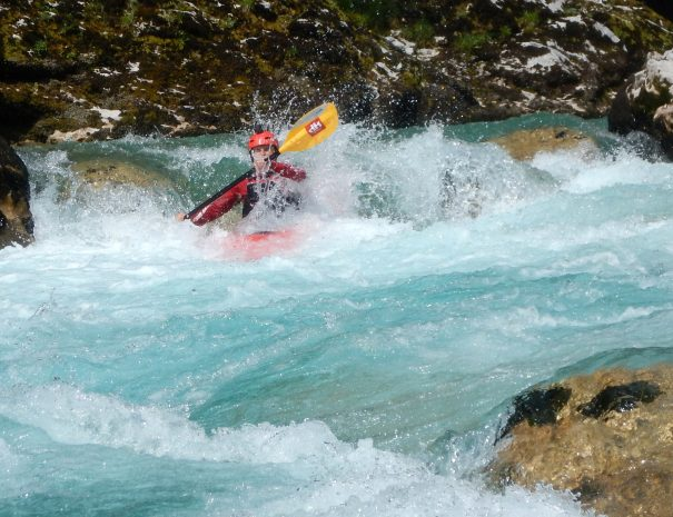 Kayaking soca river slovenia ranks for best kayaking holidays in europe