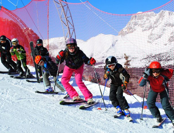 Join Kids ski school on Kanin Sella Nevea Tarvisio Zoncolan