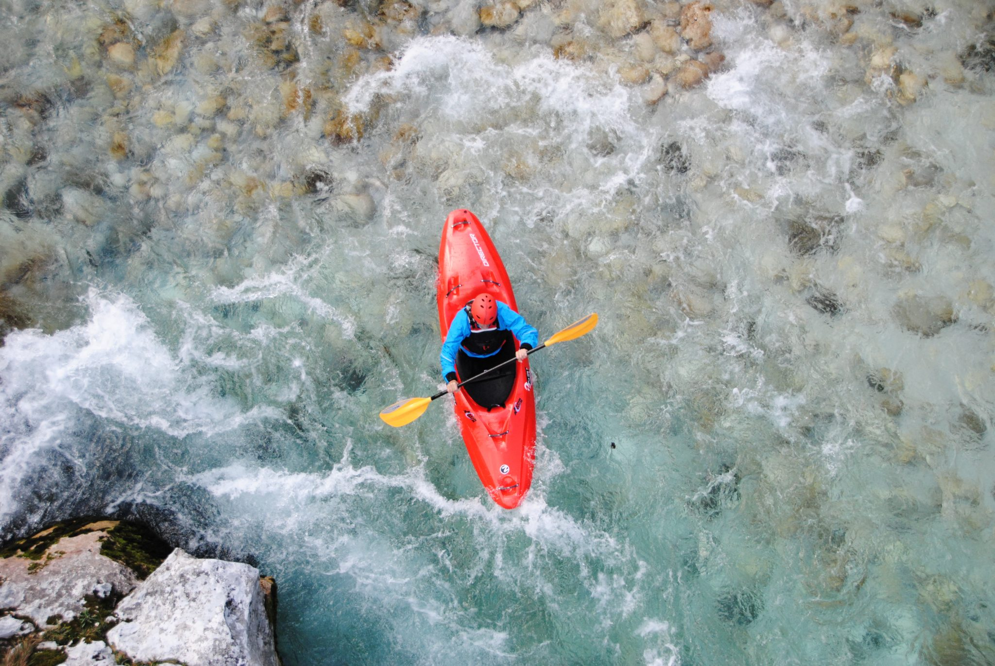 slovenia kayaking guide soca river bovec