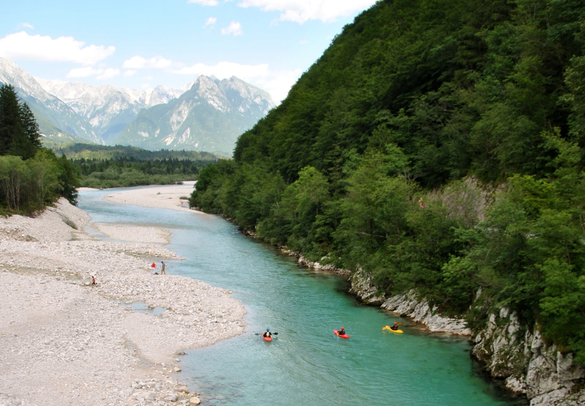 Tailor kayak trip to your wishes in bovec slovenia kayaking paradise