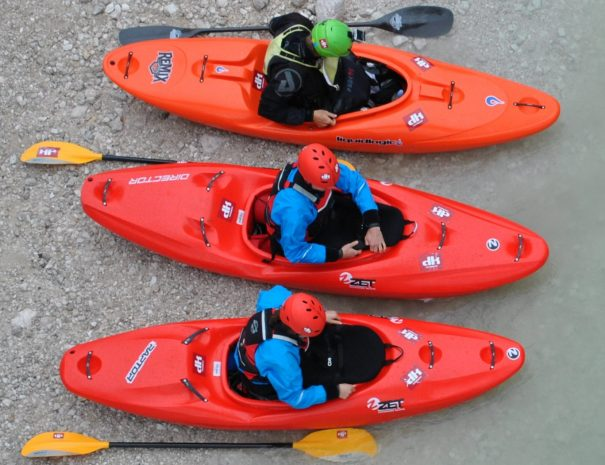 soca river kayak guide bovec