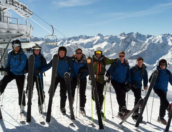 UPS ski school for best skiing in bovec slovenia
