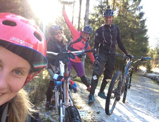 womens mountain bike weekend in soča valley and guided mtb tours in bovec, slovenia