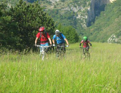 mtb istralandia trails in slovenia coastline