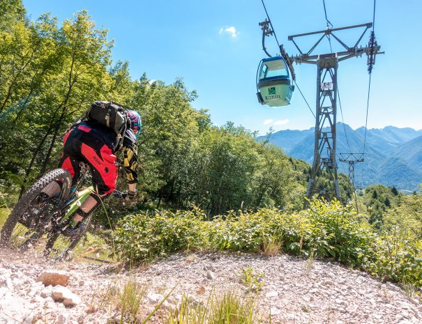 mountain bike holidays soca valley