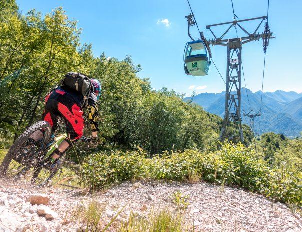 mountain bike holidays soca valley