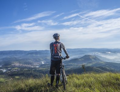 mountain bike nanos vipava valley and you will get this view