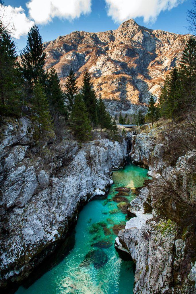 Visit Velika Korita in Lepena Valley near Bovec, Slovenia.