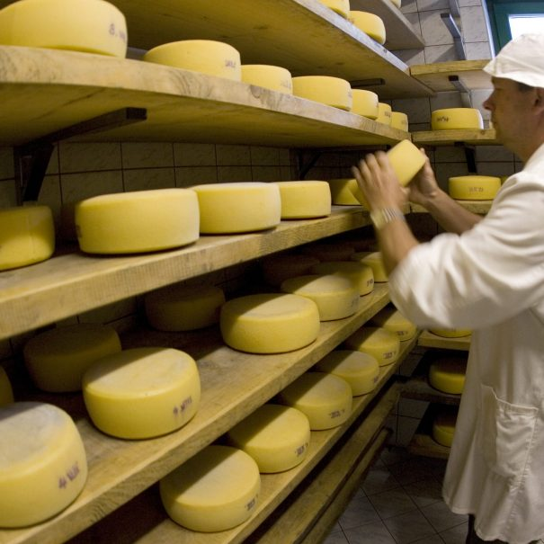 Visit one of local cheese making houses in Bovec, Slovenia.
