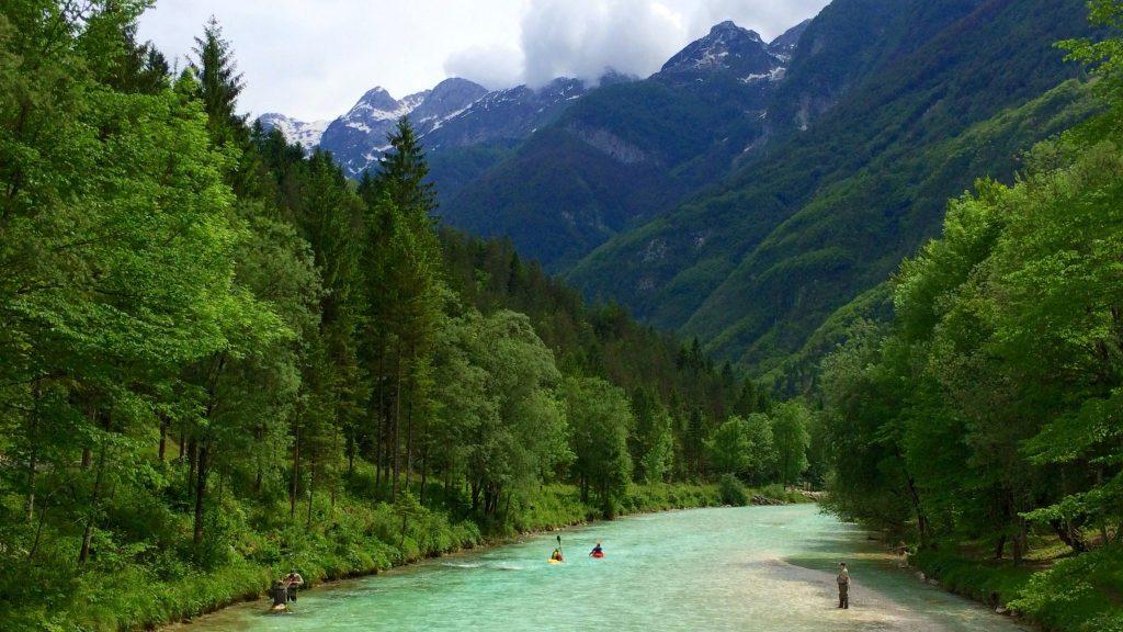 Velika Korita Kayak G1 Trenta Valley, Slovenia