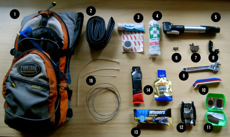Packing list for mountain bike trip to Slovenia