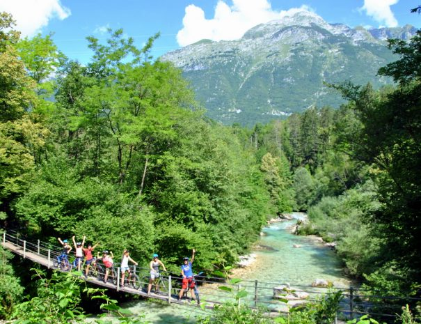 easy guided mountain bike tours in bovec soča valley