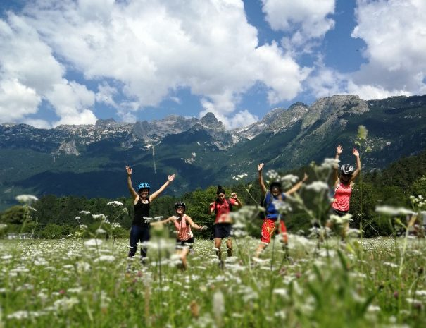 mountain bike yoga mindfulness adventure retreat in bovec soca valley slovenia