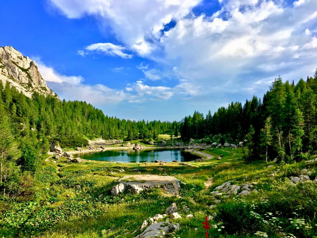 seven triglav lakes