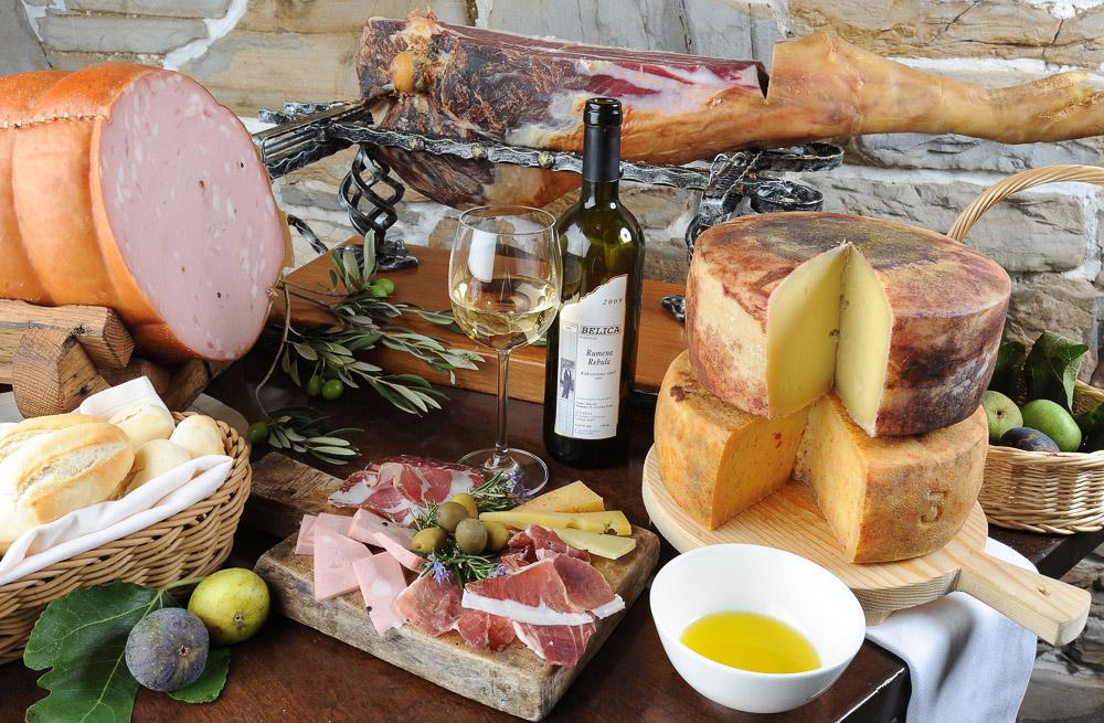 goriška brda wine olive oil tasting